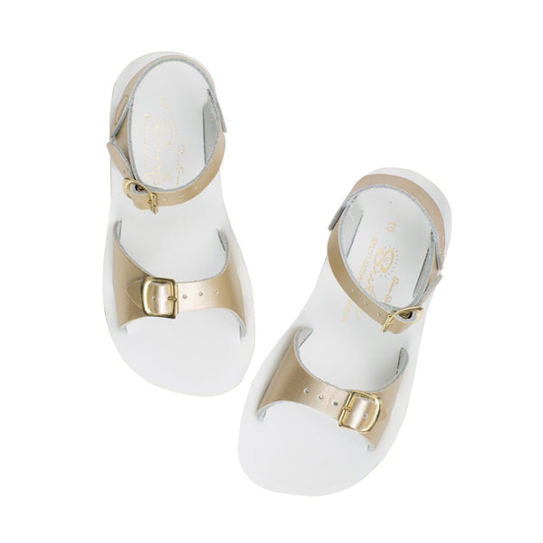'Surfer' Sandals - Gold