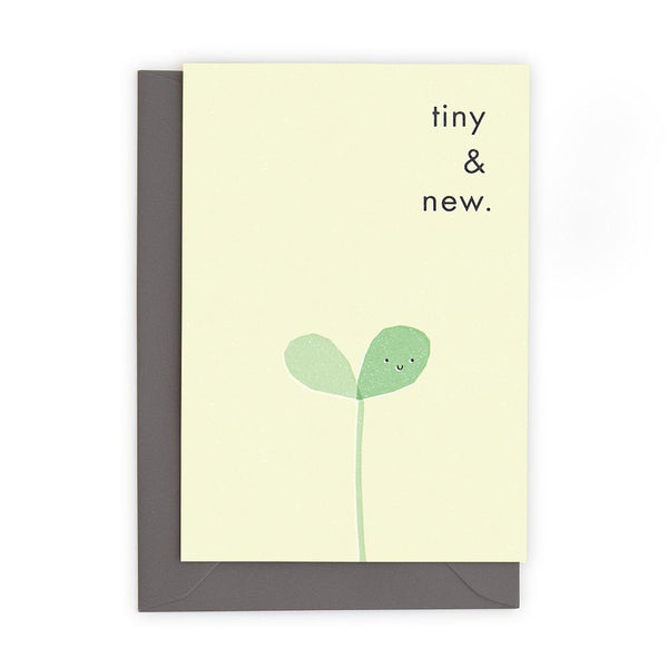 Greeting Card - Tiny & New