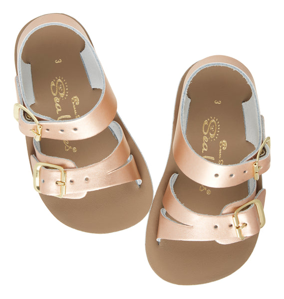 'Seawee' Sandals - Rose Gold