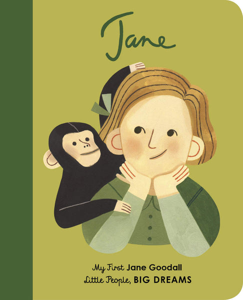 Little People Big Dreams - Jane Goodall  My First Board Book