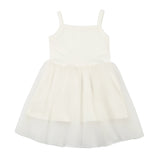 Bunnytail White Dress