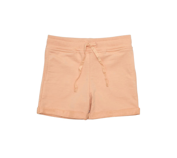 Jersey Cotton Shorts - Dusty Coral