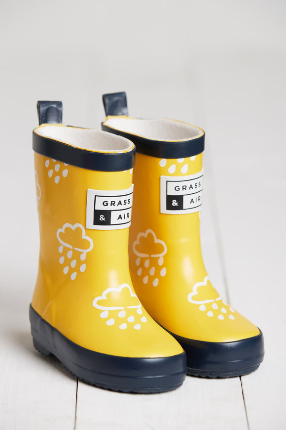 Colour Revealing Wellies - Yellow