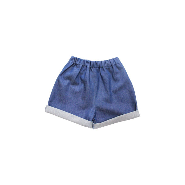 Pippins Denim Blue Shorts