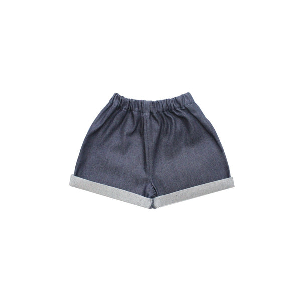 Pippins Denim Indigo Shorts