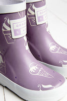 Colour Revealing Wellies - Ultra Violet (sizes UK4 - UK7)