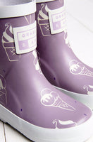 Colour Revealing Wellies - Ultra Violet (sizes UK8 - UK12)