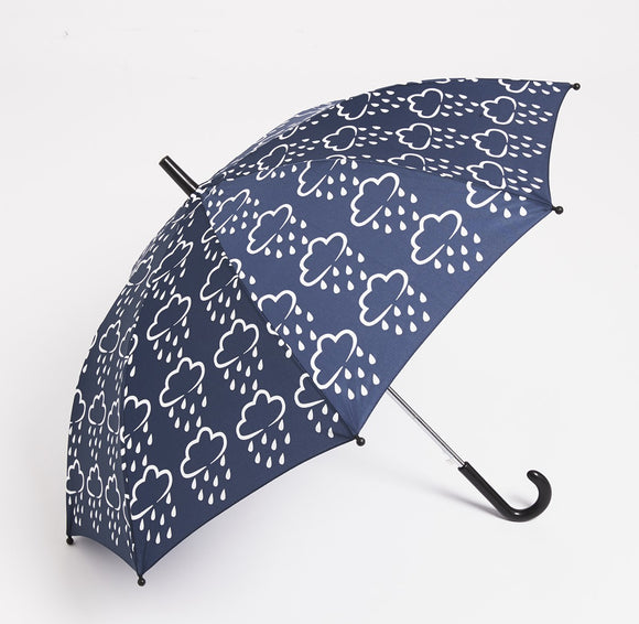 Colour Revealing Umbrella - Navy