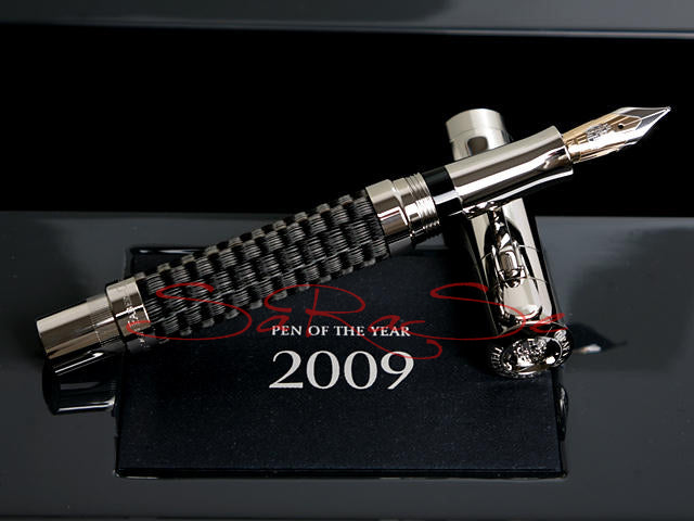 Füller Faber Castell Pen of Year 2009 Ross-Pferde-Haar Limited Edition