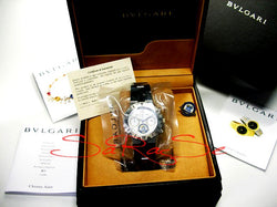 Armbanduhr Bulgari Diagonoi Chrono FIFA Limited Edition 1999 Art.-Nr. 5177
