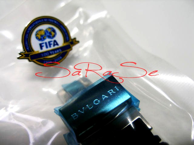 Armbanduhr Bulgari Diagonoi Chrono FIFA Limited Edition 1999 - Chronometer Art.-Nr. 5177