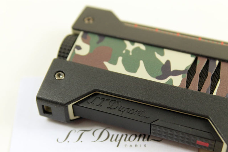 Feuerzeug S.T. Dupont Defi Extreme Camo Army Green