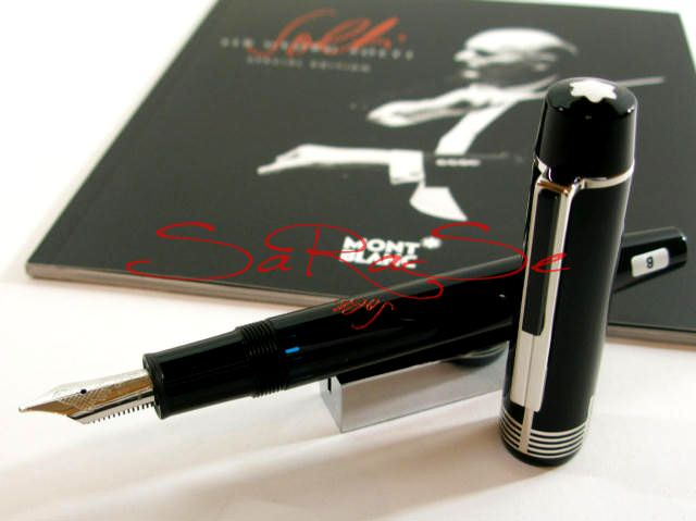 Füllertinte Montblanc Sir George Solti limited Special Edition - Tintenfass Art.-Nr. SAR-262628191384