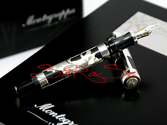 Füllfederhalter Montegrappa Paulo Cohelo 925 Silber Limited Edition 1000 - Füller Art.-Nr. ISPCN3S0
