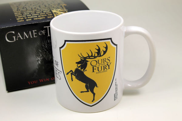 Sammlertasse Montegrappa Game of Thrones - Baratheon Kaffee Pott