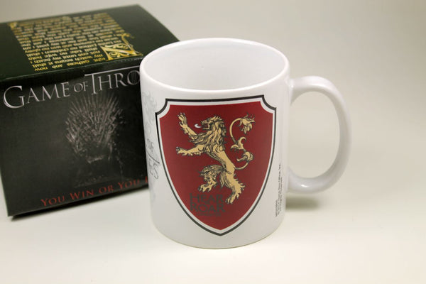 Sammlertasse Montegrappa Game of Thrones - Lannister Kaffee Pott