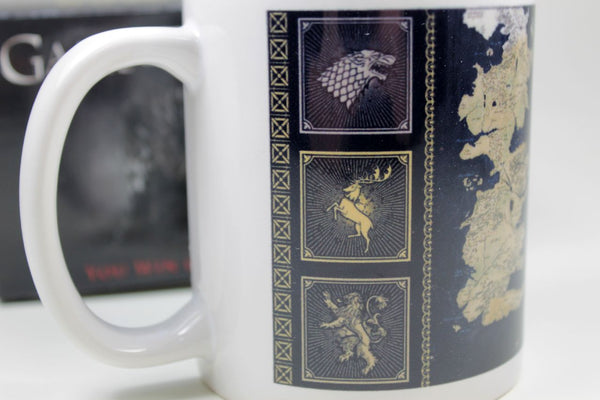 Sammlertasse Montegrappa Game of Thrones -MAP Kaffee Pott