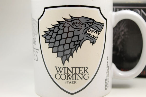 Sammlertasse Montegrappa Game of Thrones - Stark Kaffee Pott