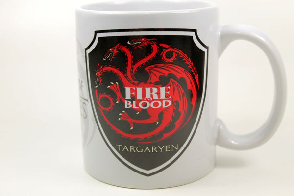 Sammlertasse Montegrappa Game of Thrones - Targaryen Kaffee Pott