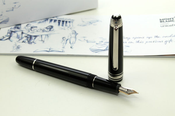 Füller Montblanc Unicef Resin Platin Line Special Edition