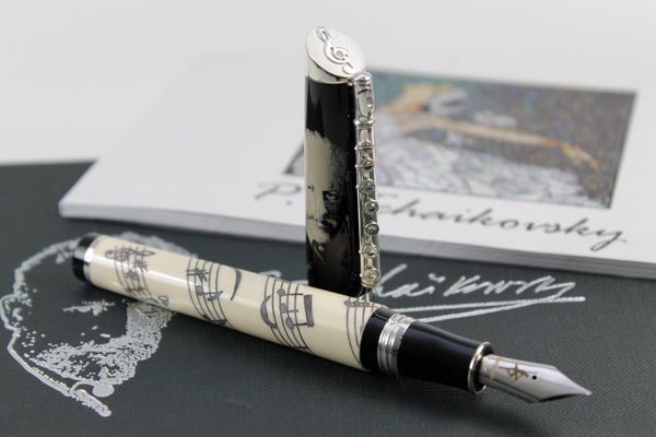 Füller Montegrappa Tchaikovsky white Swan Limited Edition 125