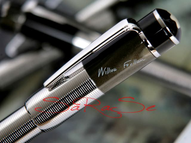 Stiftablage Montblanc William Faulkner Writers Edition - Schreibset Art.-Nr. 101186