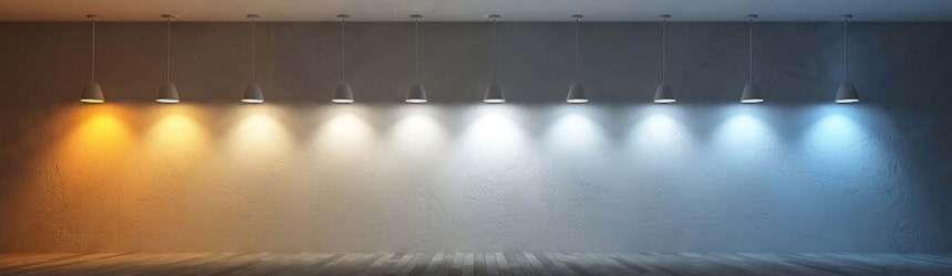 Adjustable White LED Strip Lights