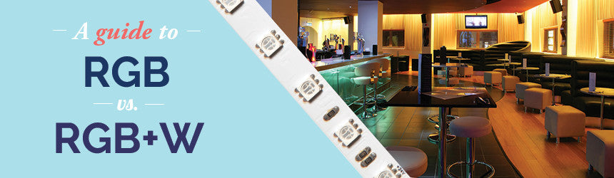 RGB vs. RGBW LED Strip Lights | Buy Online | LEDSpace