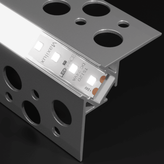 ALU70-10 External Corner Aluminium Profile Channel for LED Strip (2.5m)