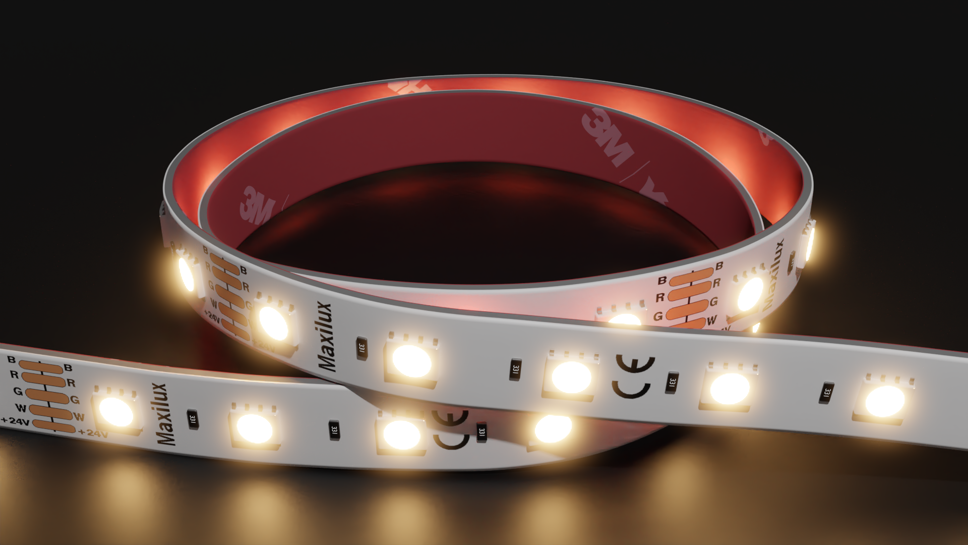 TradeStrip 120 LED | 3000k | 24v | 9w