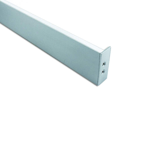 Wall Washer Up & Down Aluminium Profile Channel For LED Strip (2m) - LEDSpace
