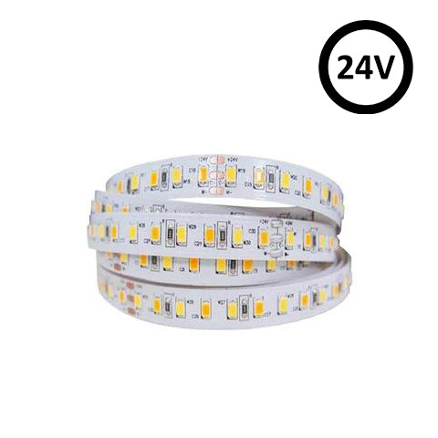 Adjustable White LED Strip Light | 2400-5800K | 24V 12w | 1m