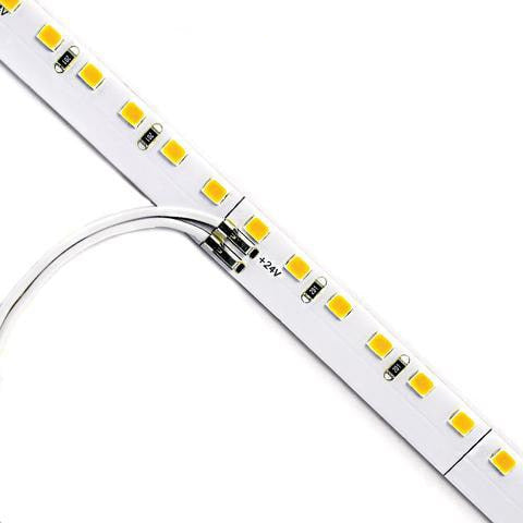 No Solder LED Strip Light | Warm White | 3000K | 120 LED | 24V 9.6w