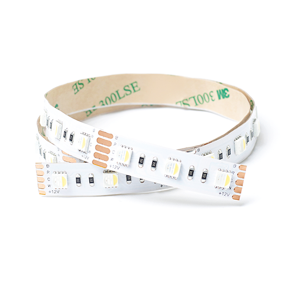 RGB + Cool White LED Strip Light | 60 LED | 24v 15w