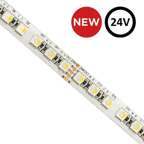 ColourStrip RGBW High Power Colour Changing LED Strip | 24V 30w | 1m