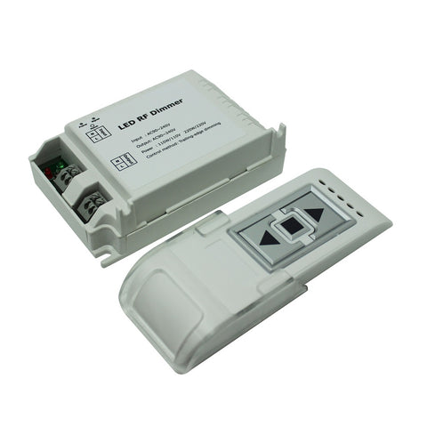 Single Colour Rf Dimmer And Remote For Led Strip Lights | Ledspace
