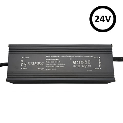 TRIAC Dimmable LED Power Supply | 300w 24V