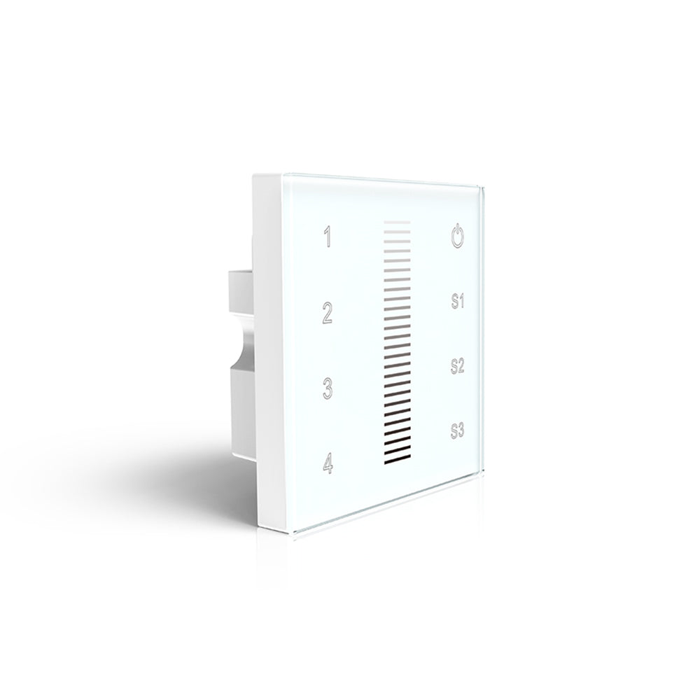 Haloled Wall Controller For Single Colour | 4 Zones & 3 Scenes | Ledspace