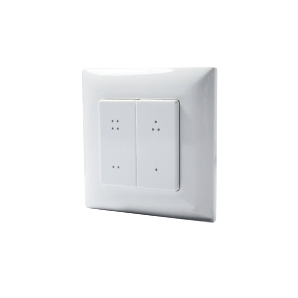 Haloled Wireless Four Scene Wall Switch | Ledspace