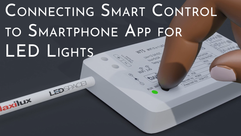 Connecting Smart Controller to Smartphone App for LED Lights
