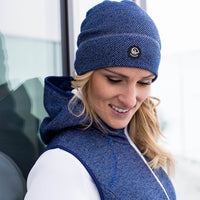 Beanie Hohes Eis - dark blue 548