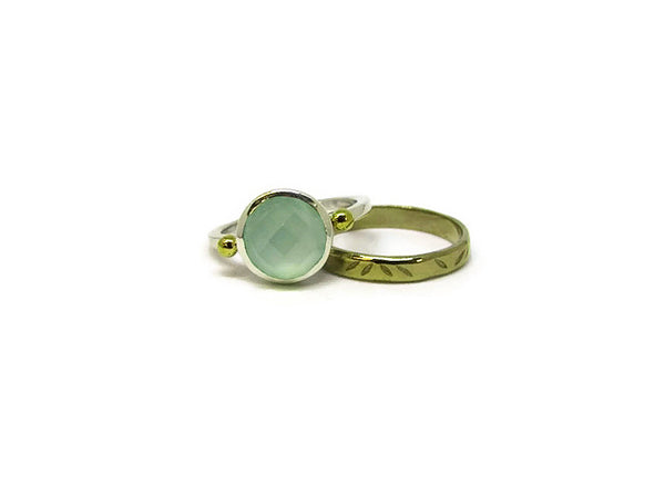 Beryl Gemstone Ring