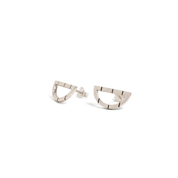 Silver Arch Studs