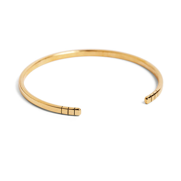 Lined Bar Bangle
