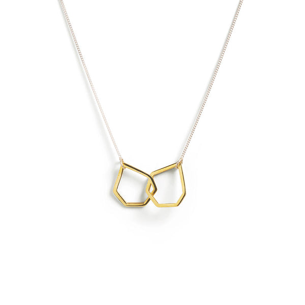 Gold Geo Necklace