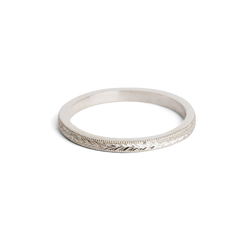 Silver Wreath Ring