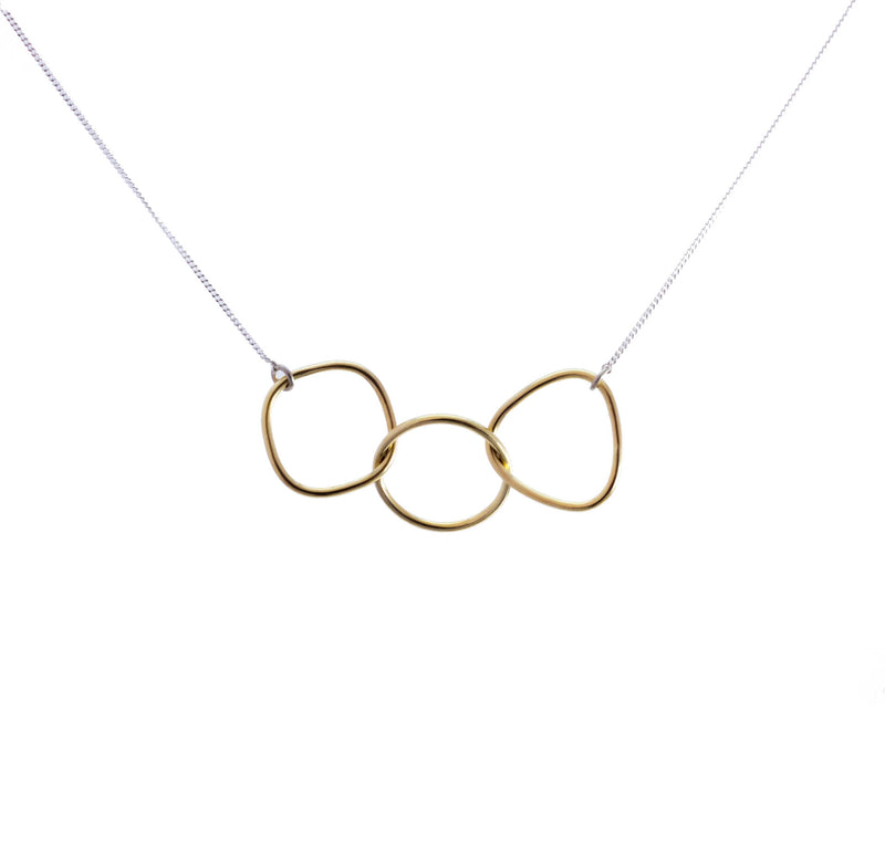 Brass shape Necklace