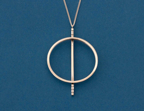Large Circle Necklace