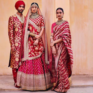 Bridal Trousseau Is Incomplete Without Banarasi Sarees & Dupattas