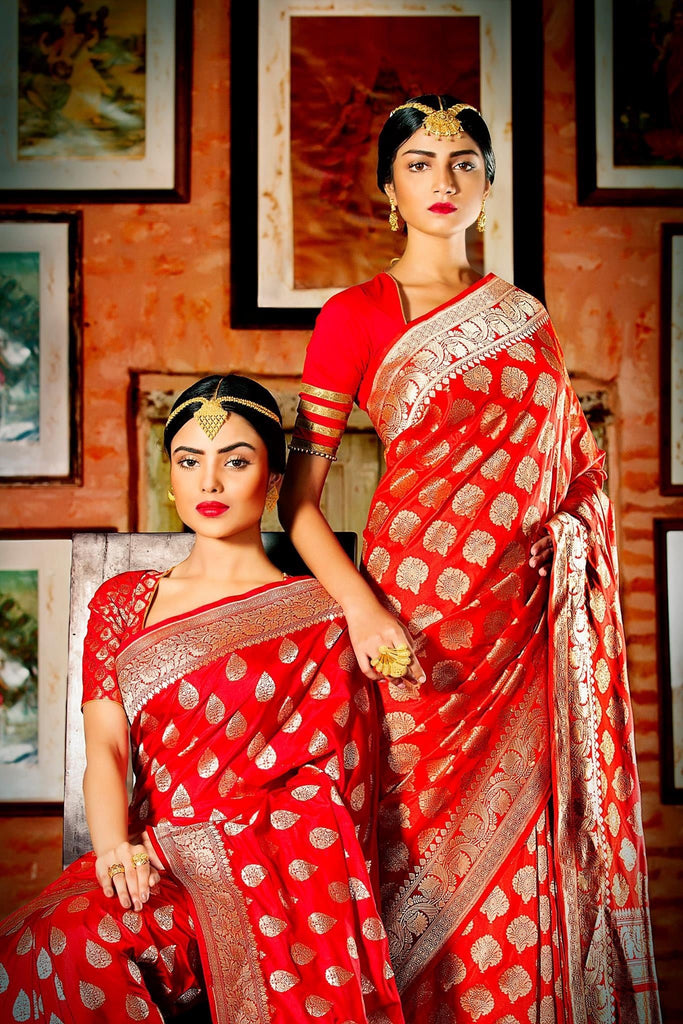 Top Designers Take on Banarasi Sarees
